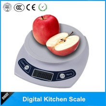 5kg 1g electronic five-star hotel use pro chef kitchen scale