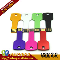Pop 4GB Colorful Metal Key USB Memory Stick USB Pendrive 2.0