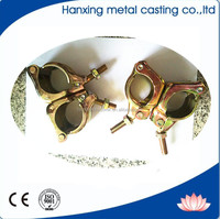 Scaffolding Accessories Fixed Couplers Double Clamps