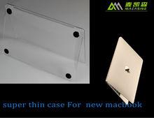 Macasing 2015 Wholesales price for apple macbook pro case, clear crystal Case for Macbook Pro 13, for macbook pro