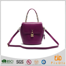 S827-A3939-2015 The latest designs women bags leather fashion lock bag in guangzhou