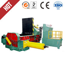 HARSLE Brand Hydraulic scrap metal recycling machine,Y81-250 can waste recycling machine,recycled fabric and car waste