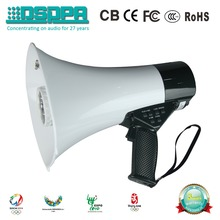 DSP166HD High Fidelity Record handy Megaphone with battery PA Horn speaker