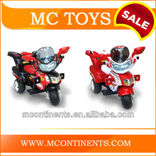 Electric children motorcycle Red and Black Color
