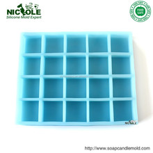 R0406 zibo nicole factory hot sold silicone rubber soap mold silicone bar soap mould bar mould silicone mould soap