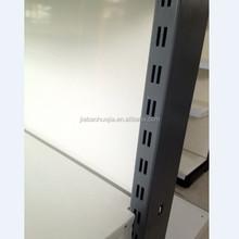 Grey prateleira do supermercado, farmácia display rack estantes&, prateleiras de exposição para lojas de varejo