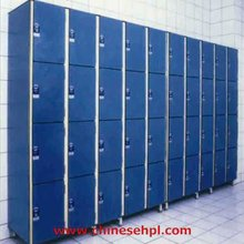 moisture resistance 4 compartment cabinet changing room compact hpl locker