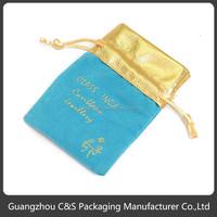 Universal Good Quality Custom Velvet Jewelry Pouch Bag