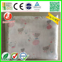 Popular newest cotton muslin swaddle blanket wholesale