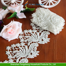 3m Lace Ribbons Trim Sew Celebration Wedding Pretty Craft Gift White