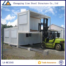 White Steel Prefabricated Container Homes
