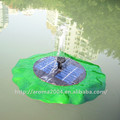Atacado bomba solar para a piscina, jardim flutuante da bomba de água