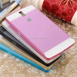 Hot aluminum metal bumper frame PC hard back phone plate cover for oneplus one