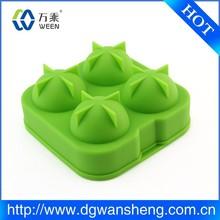 high quality silicone ice cube trays custom design ice ball tray