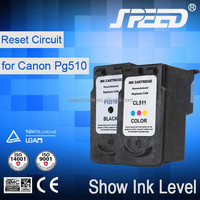 2015 New Hot Product Reman Ink Cartridges for Canon 511 Compatible for Canon Pixma IP2700 MP240 MP280 with CE Certifiecate