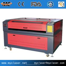 High power supply 100 watt CNC MC1390 CO2 laser die cutting machine