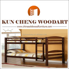 Home Furniture General Use and Home Bed Specific Use Wooden bunk bed/used adult solid wood bunk beds