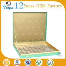 logo printed chocolate paper box compartments