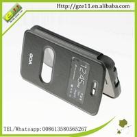 PU leather PC plastic phone case for Wiko Goa