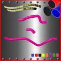 de silicona de la manguera del radiador kit para yamaha raptor 660 2002 de silicona piezas de la manguera