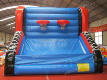 inflatable field basketball, Hoop Shoot Inflatable Basketball Game For Carnival Theme Party For rental