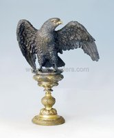 antique eagle bronze sculpture