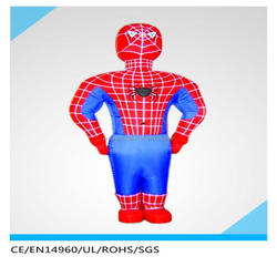Giant Advertising Inflatable Spiderman Cartoon/ Promotional Inflatable Spiderman Replica/ Cheap Inflatable Spiderman Model