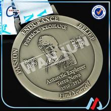 find yourself plating black nickel medal