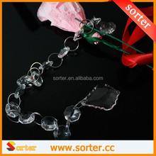 fashionable crystal bead curtain for wedding backdrop