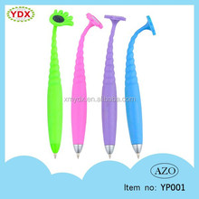 Promotional durable silicone ball pen china supplier ball point pen