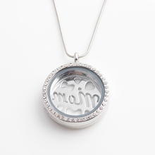 wholesale fashion DIY zinc alloy floating Lockets Pendant for mom ,best friend