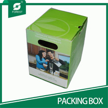 CUSTOM PRINTED PACKING BOX FOR GLASSES CUPS