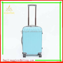 A233 Most fashionable and salable modern and hot sale colorful pc abs trolley luggage bag and cases