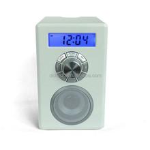 2015 Portable radio with bluetooth ,mini bluetooth fm radio with lcd display
