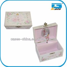 Merry-go-round antique music box/boxes with dancer