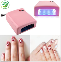 Professional Fast Drying uv nail lamp 36w uv lamp for nail drying nail dryer machine