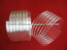 Blanco lechoso espiral tubo de cuarzo