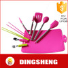 stainless steel handle silicone kitchenware