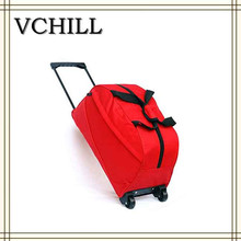 Hot Sale Red Fashion Bag Travel With Trolley