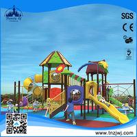 2014 factory prices kids tunnel slide outdoor amusement park