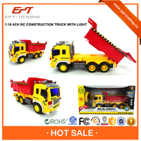 Top selling 1:16 4CH radio control plastic toy truck for sale
