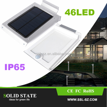 China Garden street Lithium Battery Waterproof Mini Solar Powered Outdoor Wall Light