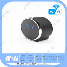 RoHS Approved Security Camera 1080P Wifi Clock Radio Camera with 2 years Warranty