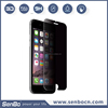 Trade Assurance alibaba express new arrival 0.33mm 9H 2.5D privacy screen protector for iPhone 6 plus