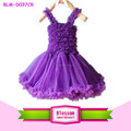 2015 boutique de Halloween primavera encantadora purple gasa de la colmena tanques bebé de petti vestido