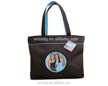 Fashion Tote Bag with a Clear Front Photo Pocket