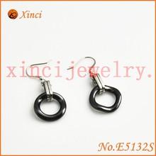 Beautiful Zirconia ceramics earrings for girls_Not fade and allergies ceramics earrings