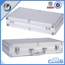 customed manufacturing silver aluminum box tool case tool briefcase