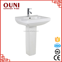 ON-138 Best supply ceramic russia basin pedestal