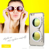 New glass style TPU cover with sunglass stander mobile phone case for iPhone 6Plus